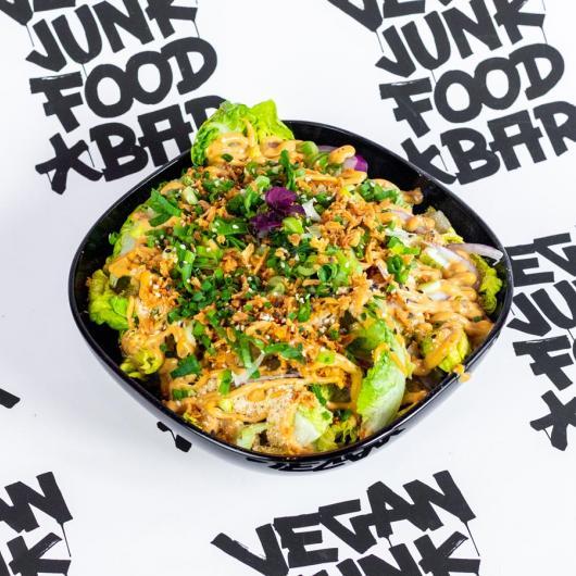 Vegan Junk Food Bar Menu